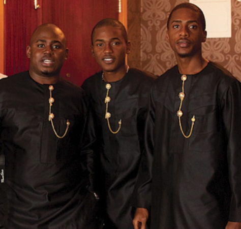 [CUTE PHOTO] Check Out Actress Dakore Akande's three handsome brothers